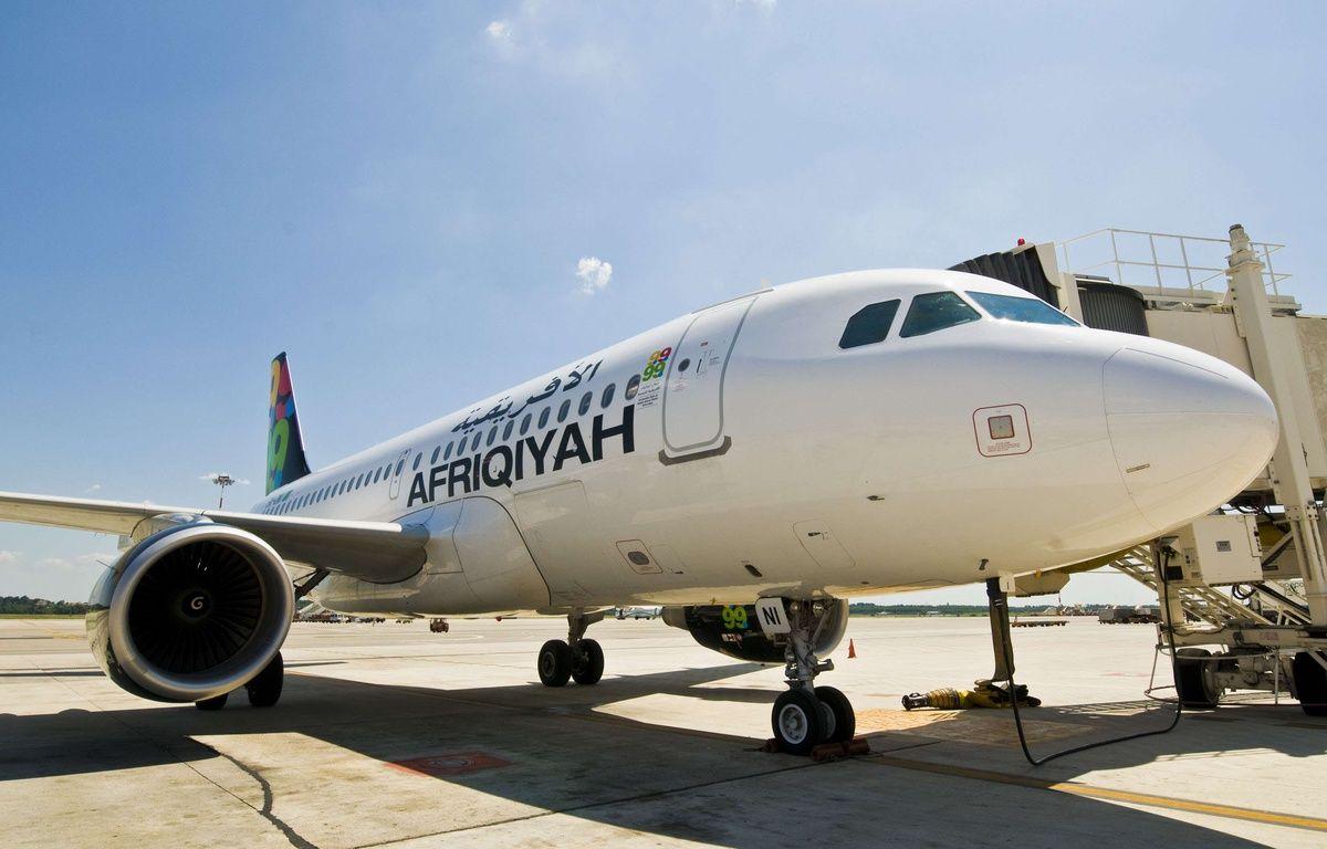 Un avion de la compagnie Afriqiyah Airways à Milan en 2010. – AGF s.r.l. / Rex Featur/REX/SIPA
