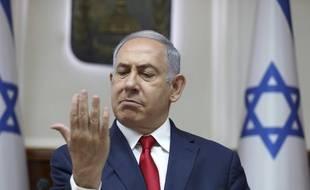 Benjamin Netanyahou, l'un des premiers à réagir
