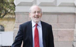 Le gouverneur de la banque centrale irlandaise, Patrick Honohan, le 5 mai 2011 à Helsinki