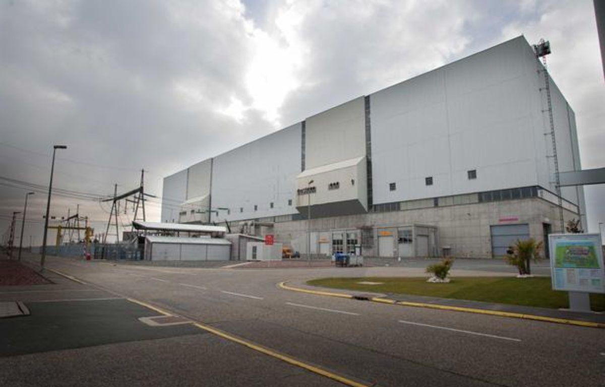 Tranche 3 de la centrale nucleaire du Blayais, entre Bordeaux et Royan, le 28 janvier 2011. – VALINCO/SIPA