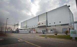 Tranche 3 de la centrale nucleaire du Blayais, entre Bordeaux et Royan, le 28 janvier 2011.