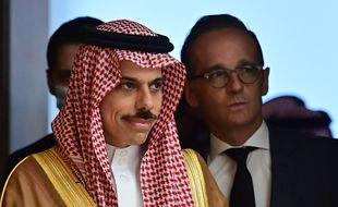 Le ministre des Affaires étrangères saoudien Fayçal Ben Farhane à Berlin, le 19 août 2020.