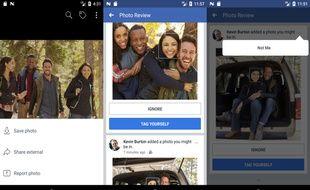 Facebook a déjà lancé la fonction de reconnaissance faciale aux Etats-Unis.