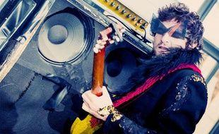 Le chanteur et guitariste -M-, alias Matthieu Chedid