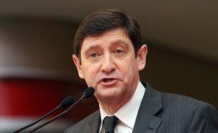 Le socialiste Patrick Kanner, ministre de la Ville, des Sports et de la Jeunesse.