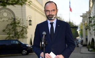 Edouard Philippe, le 27 mars 2020 à Matignon à Paris.