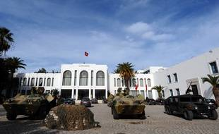 Le parlement tunisien.