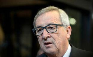 Le président de la Commission européenne Jean-Claude Juncker à Bruxelles, le 8 mars 2016