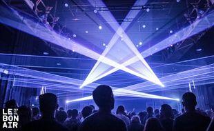 Une toute nouvelle warehouse de 1.250 m2 est prévu pour la quatrième édition du festival Le Bon Air.