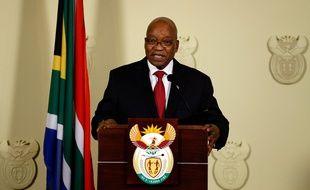Le président sud-africain, Jacob Zuma, a annoncé sa démission, mercredi 14 février.