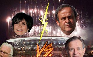 Liane Foly vs Francis Huster vs Michel Platini vs Jacques Vendroux
