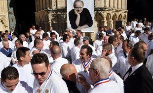 Hommage public à Joel Robuchon à Poitiers, le 17 août 2018