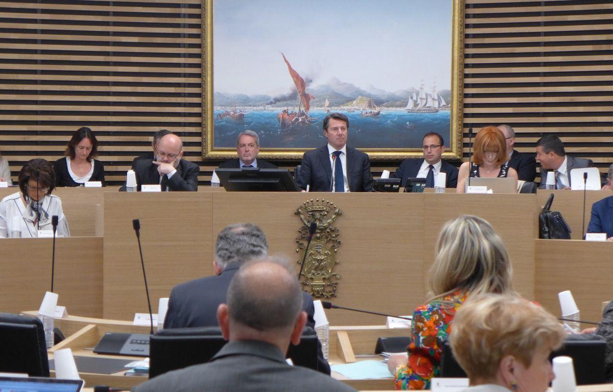 Ce lundi matin, dans la salle du conseil municipal de Nice – M. Frenois / ANP / 20 Minutes