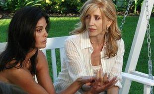 Suzanne (à gauche) et Lynette dans le premier épisode de la saison 4 de «Desperate Housewives»