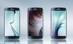 L'écran de 5,1'' du Samsung Galaxy S6 Edge propose de nouvelles fonctions avec ses bords incurvés.