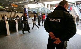 Un agent de sécurité (illustration).