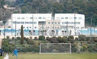 Un des stades d'entraînement du centre Robert-Louis Dreyfus, le 8 février 2011.