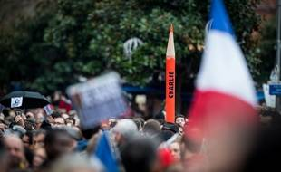 La manifestation du 10 janvier après les attentats contre Charlie Hebdo et l'Hyper Cacher avait réuni 120.000 personnes à Toulouse.