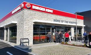 Strasbourg, le 2 octobre 2015: Ouverture du Burger King à La Vigie