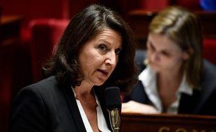 La ministre de la SAnté Agnès Buzyn pendant les questions au gouvernement le 27 mars 2019.