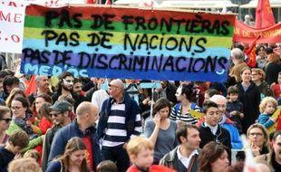 Manifestation à Montpellier le 24 octobre 2015 pour la défense des langues régionales
