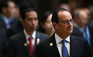 François Hollande en Chine pour son dernier G20
