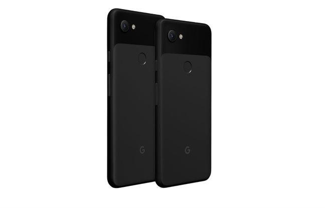 Les Pixel 3a et 3a XL de Google.