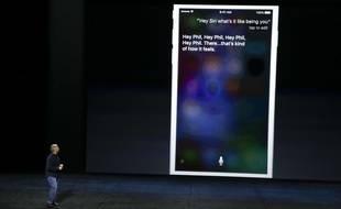 La keynote d'Apple, le 9 septembre 2015.