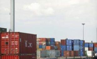 Le trafic de marchandises a chuté de 4,5 %.