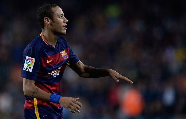 Neymar souffre d