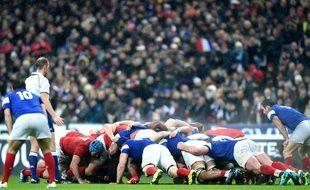 Le match France-pays de Galles au Stade de France lors du tournoi des 6 Nations, le 1er février 2019.