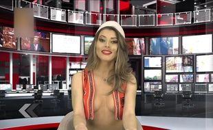 Voici la nouvelle présentatrice TV en Albanie ! - Le Rewind (vidéo)