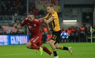 Franck Ribéry n'a pas brillé face à Dortmund.