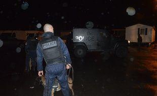 Environ 70 policiers ont investi ce mardi matin un campement de gens du voyage près de Rennes.