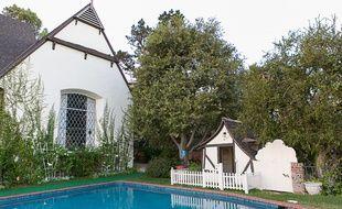 La cabane que Walt avait construite pour ses filles