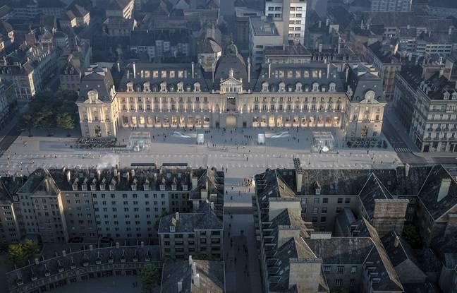 Le projet baptisé Renaissance du palais du commerce a été revu et corrigé par la ville de Rennes.