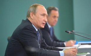 Le président russe Vladimir Poutine le 11 novembre 2015 à Sotchi