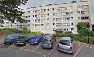 Un immeuble de la rue Nicolas-Poussin à Nantes.