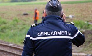 Illustration d'un gendarme, ici mobilisé sur un accident de la route en Ille-et-Vilaine.