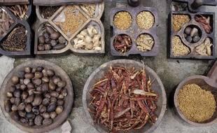 Plus de mille herbes et épices rentrent dans la composition des produits ayurvédiques.