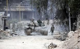 La ville de Douma en Syrie subit depuis plusieurs jours les bombardements de l'armée syrienne.