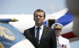 Le président de la République Emmanuel Macron est arrivé le 26 octobre 2017 en Guyane pour une visite de 48h qui intervient dans un climat tendu.
