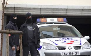Illustration d'une opération antiterroriste.