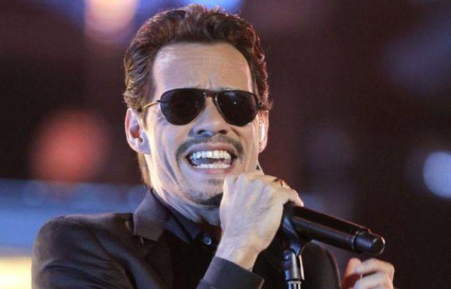 Marc Anthony sur scène à Las Vegas le 10 novembre 2011.