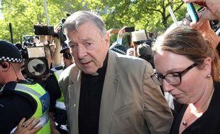 Le cardinal George Pell, le 27 février 2019 à Melbourne.