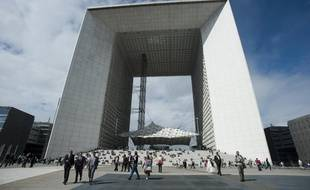 Le quartier d'affaires de La Défense, en région parisienne.
