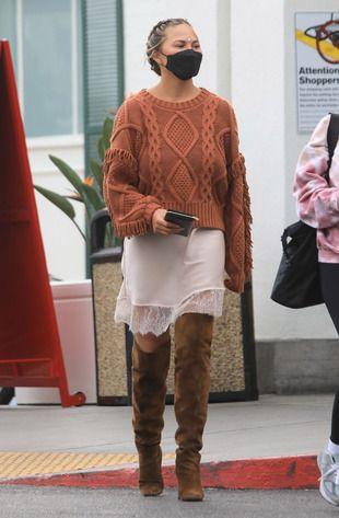 Chrissy Teigen, le 12 janvier 2021, à Beverly Hills, en Californie.