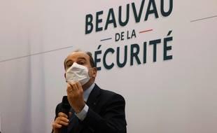 Jean Castex à Beauvais, lors du Beauvau de la Sécurité, le 5 mars 2021.