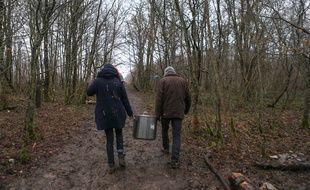 La forêt cédée par la commune de Mandres-en-Barrois n'est pas la même que le Bois-Lejuc occupé depuis des mois par les opposants au projet. Illustration