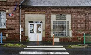 Une école primaire fermée à Mouy, dans l'Oise
